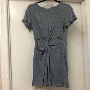 Blue/Gray Urban Outfitters T-Shirt Dress